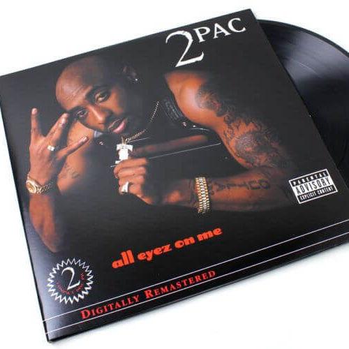 2 Pac - All Eyez On Me [Vinyle]