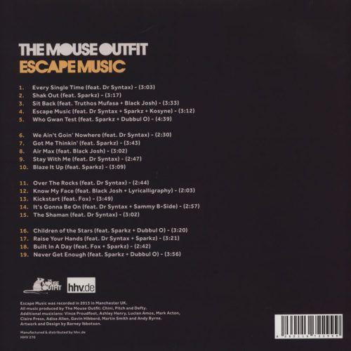 The Mouse Outfit - Escape Music [Vinyle]