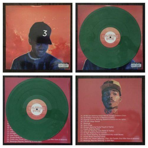 Chance The Rapper Coloring Book Vinyl The Best Rap Vinyls
