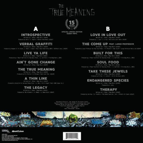 Cormega - The True Meaning [15e Anniversaire Vinyle]