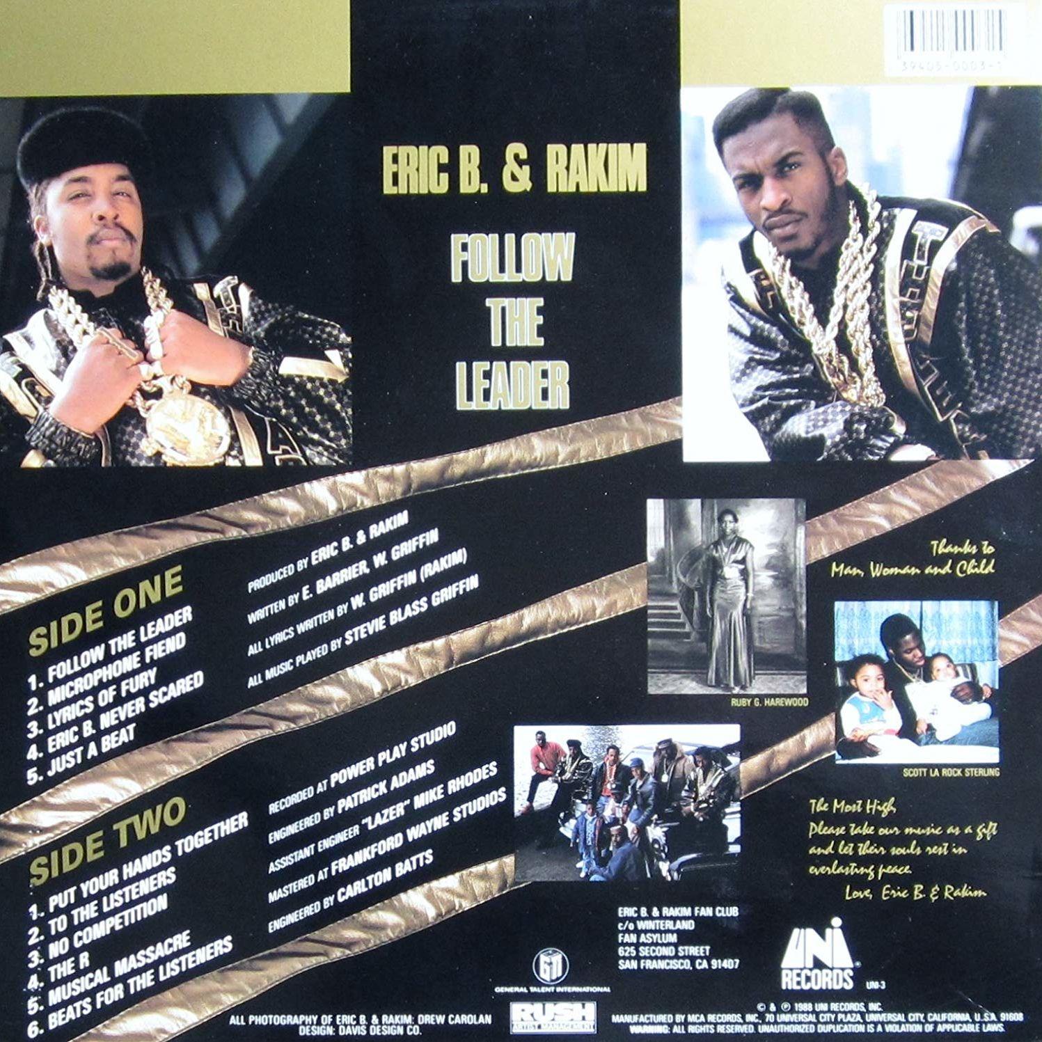 Eric B & Rakim - Follow The Leader [Vinyl]