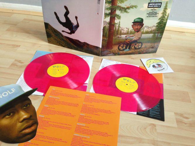 Tyler The Creator Wolf Pink Vinyl Cd The Best Rap
