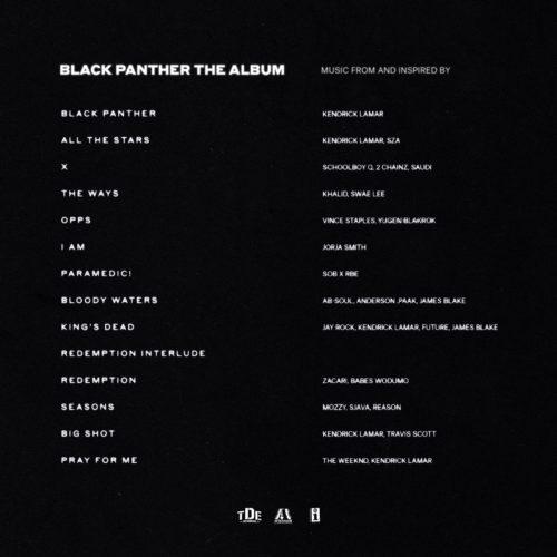 Black Panther: The Album [Vinyle]