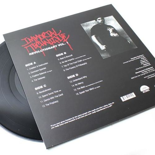 Immortal Technique - Revolutionary Vol. 1 [Vinyle]
