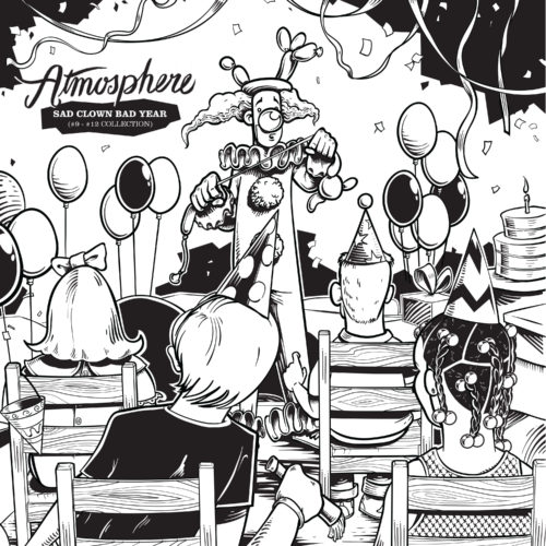 Atmosphere - Sad Clown Bad Year [Vinyle 10e Anniversaire 4 EP]