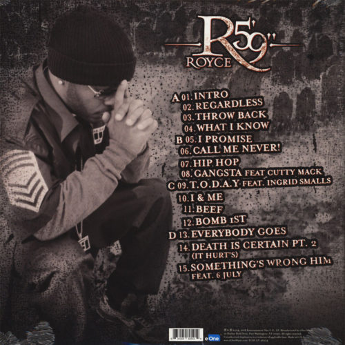 Royce Da 5'9 - Death Is Certain [Vinyle]