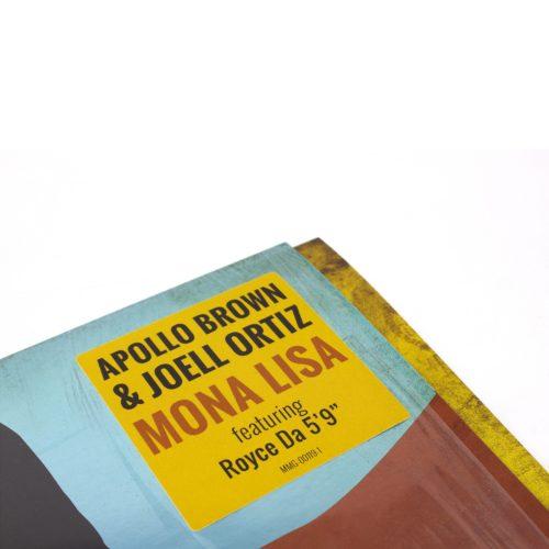 Apollo Brown & Joell Ortiz - Mona Lisa [Vinyle]