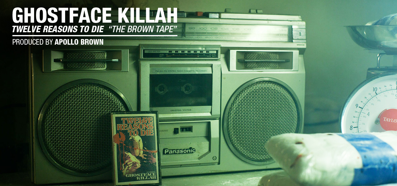 GHOSTFACE KILLAH & APOLLO BROWN - THE BROWN TAPE