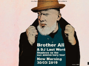 2X2 PLACES À GAGNER POUR LE CONCERT DE BROTHER ALI AU NEW MORNING !