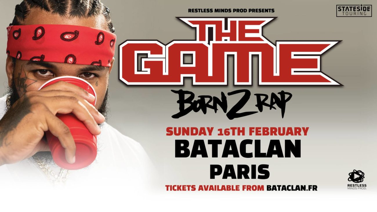 2x2 PLACES POUR LE CONCERT DE THE GAME LE 16/02
