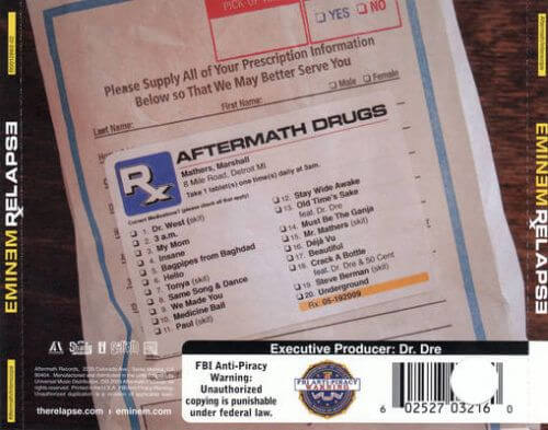 Eminem - Relapse [Vinyl]