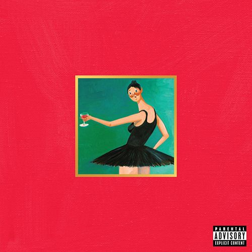 Kanye West - My Beautiful Dark Twisted Fantasy [Vinyle]