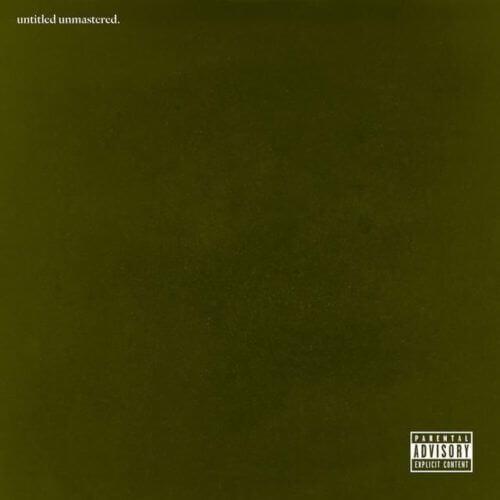 Kendrick Lamar - untitled unmastered. [Vinyle]