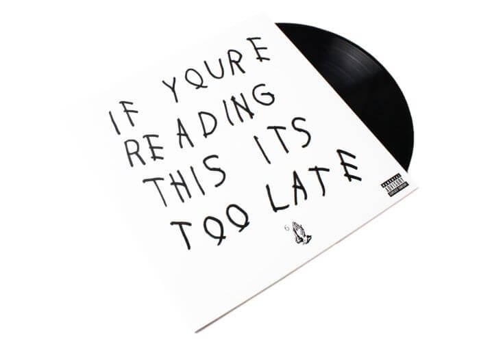 Drake - If You're Reading This It's Too Late [Vinyl]