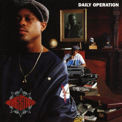 Gang Starr - Daily Operation [Vinyle 3D Cover]