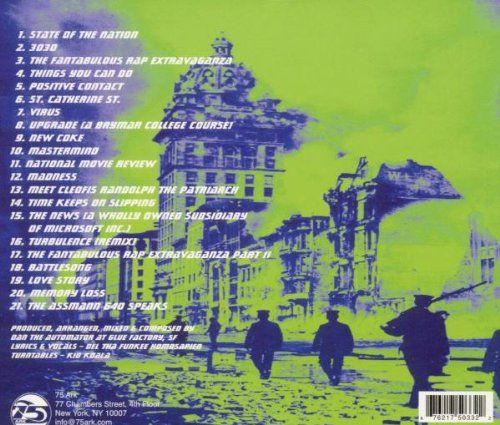 Deltron 3030 - Deltron 3030 [Vinyle]