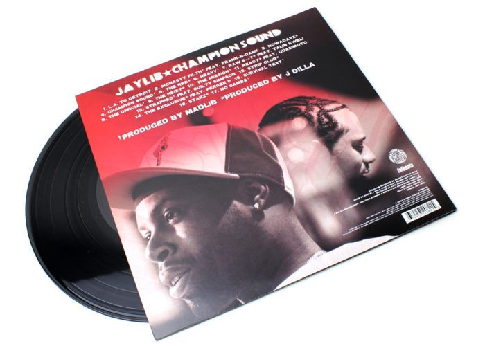 Jaylib - Champion Sound [Vinyle]