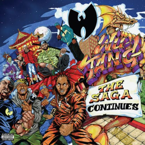 Wu-Tang Clan - The Saga Continues [Vinyle]