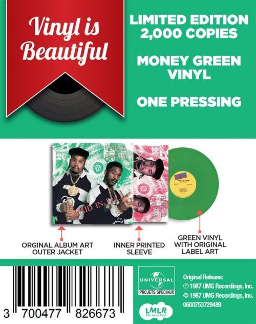 Eric B & Rakim - Paid In Full [Vinyle]