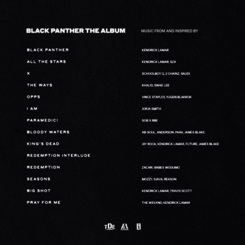 Black Panther: The Album [Vinyle]