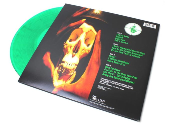 Public Enemy - Apocalypse 91... The Enemy Strikes Black [Vinyle Vert]