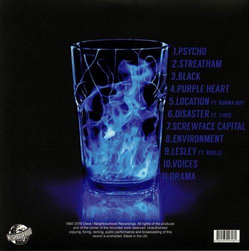 Dave - Psychodrama [Vinyle Bleu]
